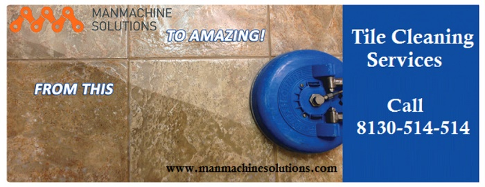 manmachine solutions tile cleaning